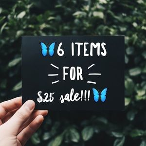 Other - 🦋6/$25🦋 SALE! Make a bundle of marked items